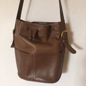 Coach Crossbody Bucket Bag 4151 Caramel